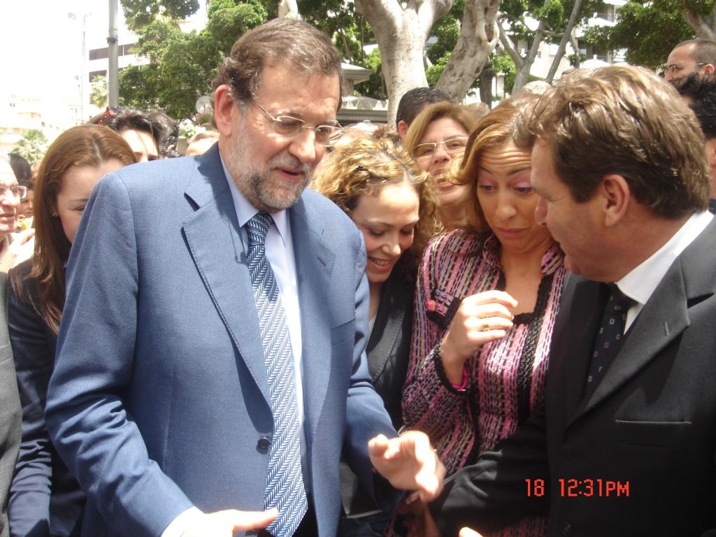 Dionisio le ha metido mano a Rajoy