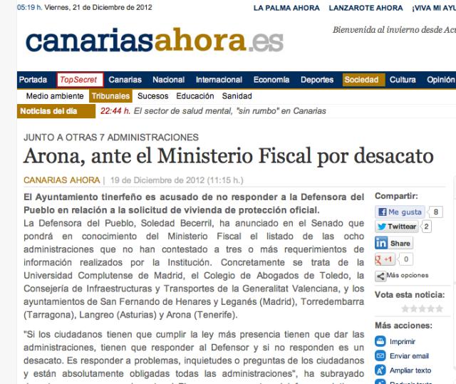(Pinchar sobre la imagen para leer el artículo completo en su edición original, el periódico digital Canarias Ahora)