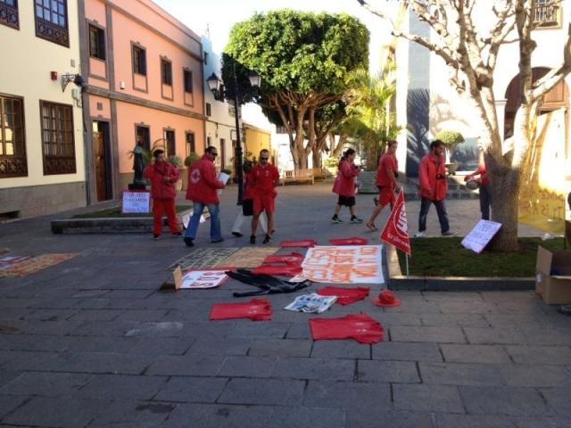 Protesta socorristas Arona, 3