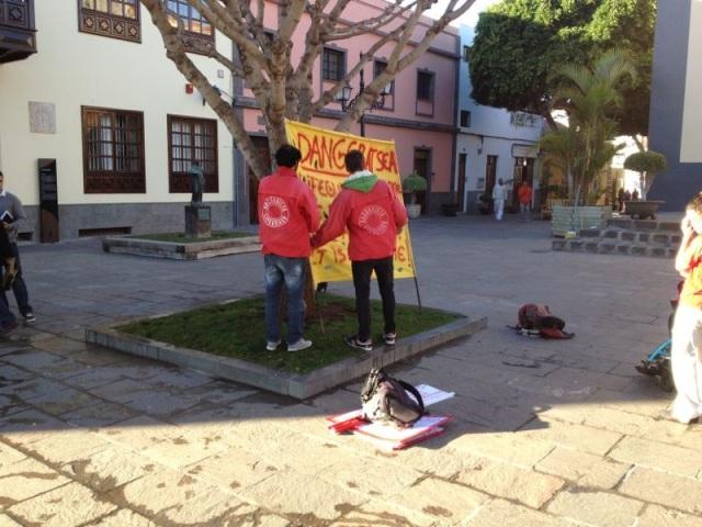 Protesta socorristas Arona 4