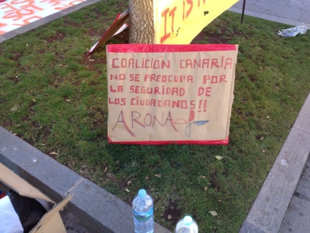 Protesta socorristas Arona, 5