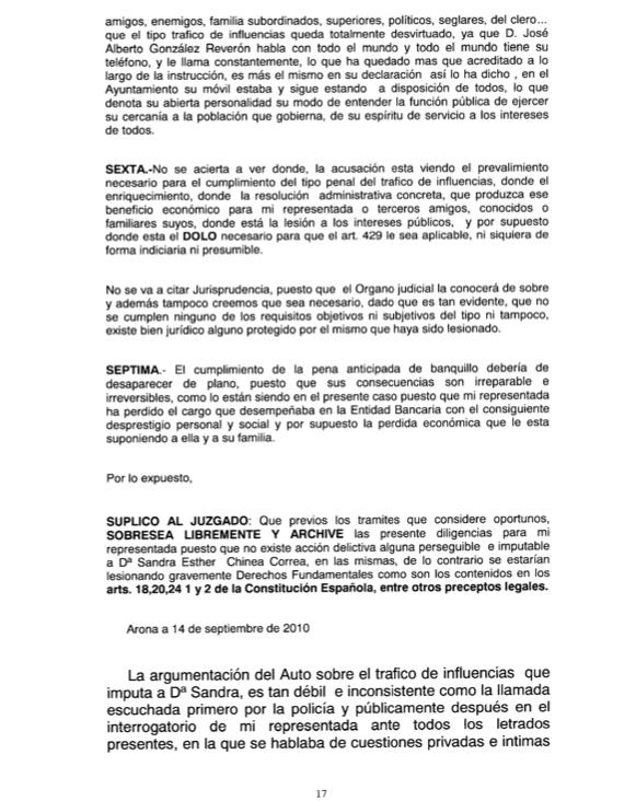 Recurso acusados Caso Arona 1, pag 17