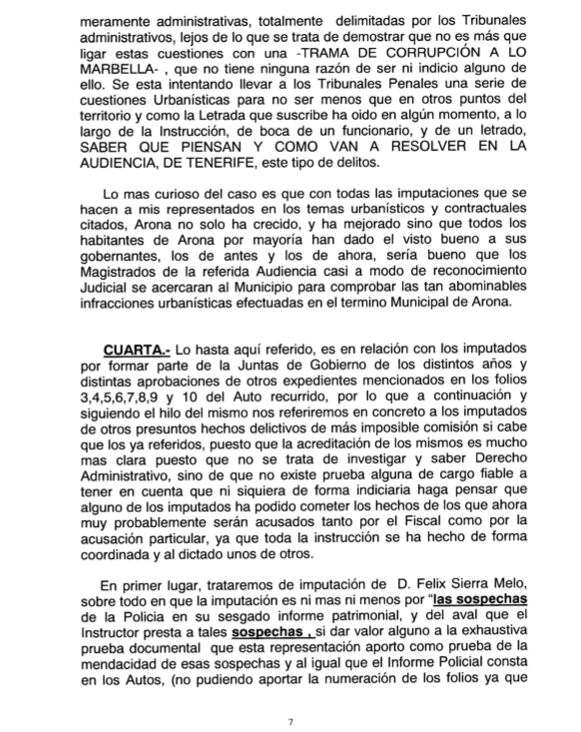 Recurso acusados Caso Arona 1, pag 7