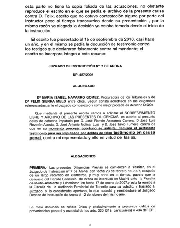Recurso acusados Caso Arona 1, pag 8