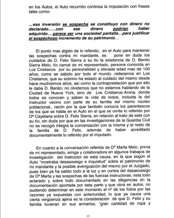 Recurso acusados Caso Arona 1, pg 13
