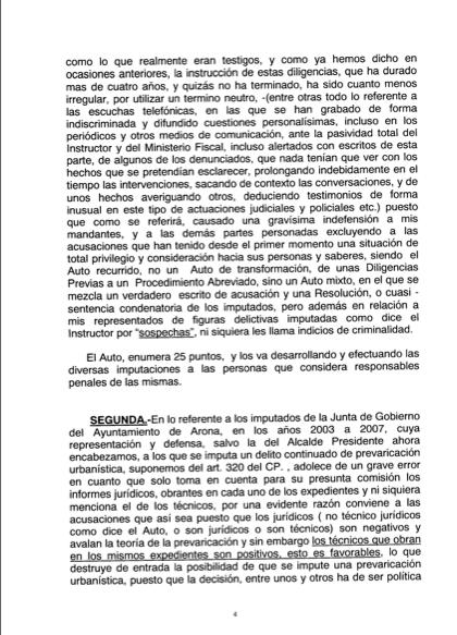 Recurso acusados Caso Arona, 4