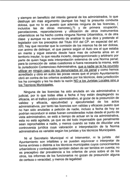 Recurso acusados Caso Arona, 5