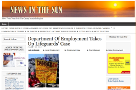 News in the Sun apoya desde Gran Bretaña a los socorristas de Arona