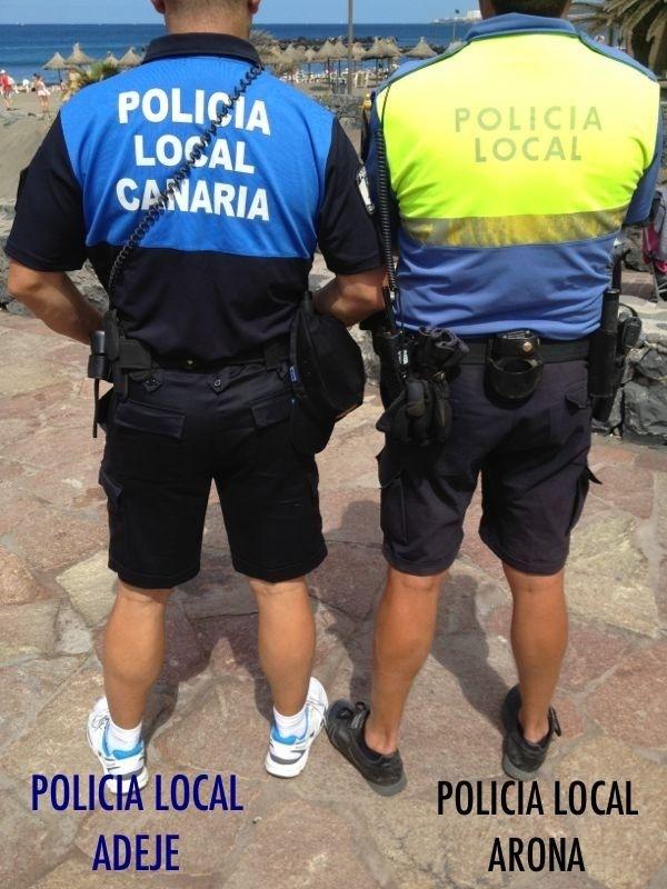 Comparaciones odiosas, policia local arona y adeje, 1