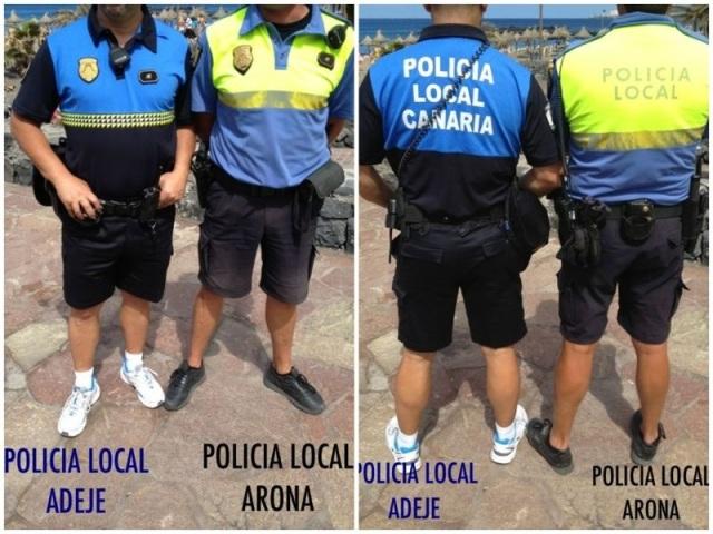 Comparaciones odiosas, policia local arona y adeje, 3