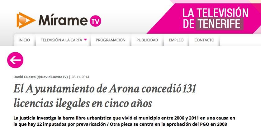 Mirame_TV_Caso Arona 2, noviembre 2014